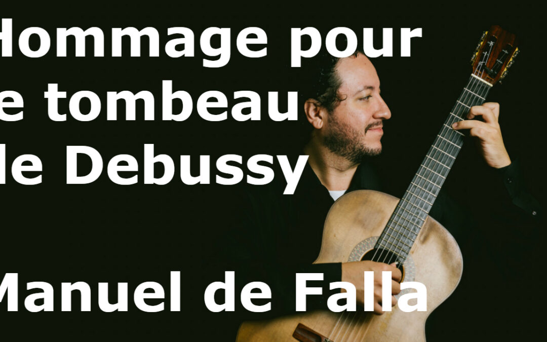 Hommage pour le toumbeau de Debussy – an intense work about life and death (video)