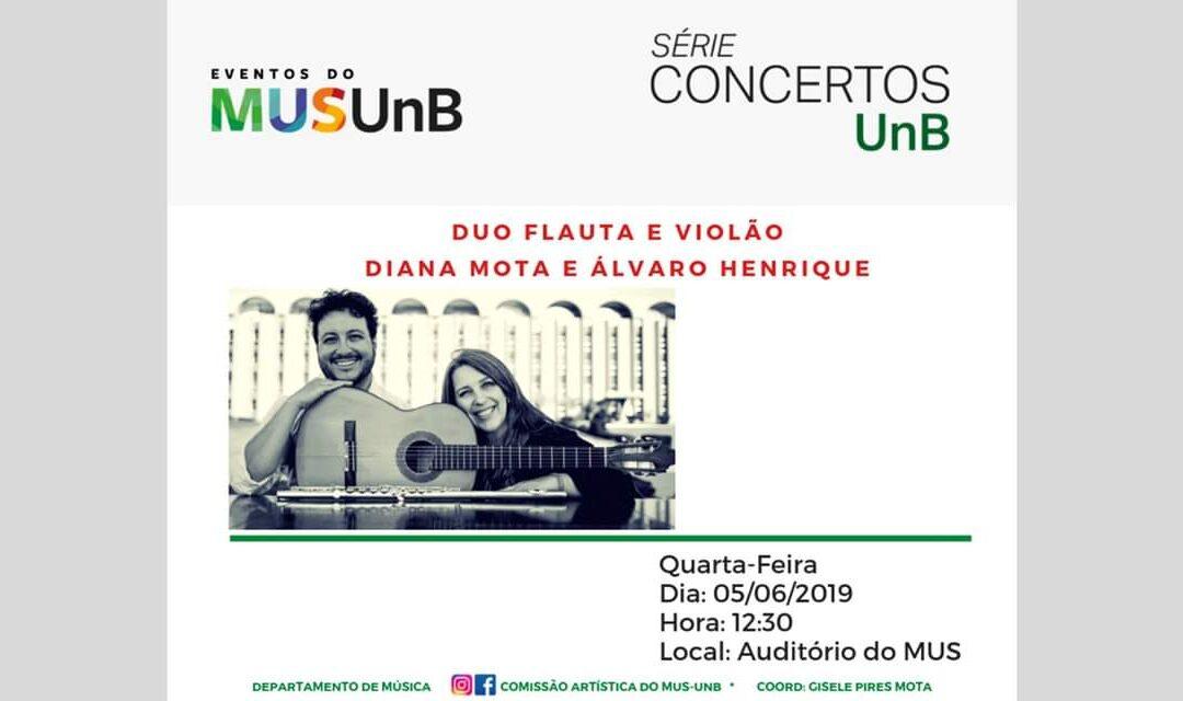 Recital na UnB (05/06, 12:30, MUS)