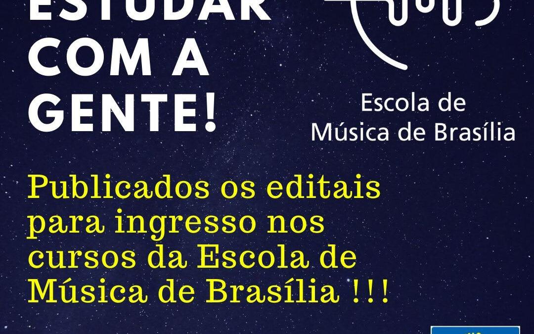 Venha Estudar Violão Erudito na Escola de Música de Brasília! Inscrições de  19 de novembro a 01 de dezembro de 2019