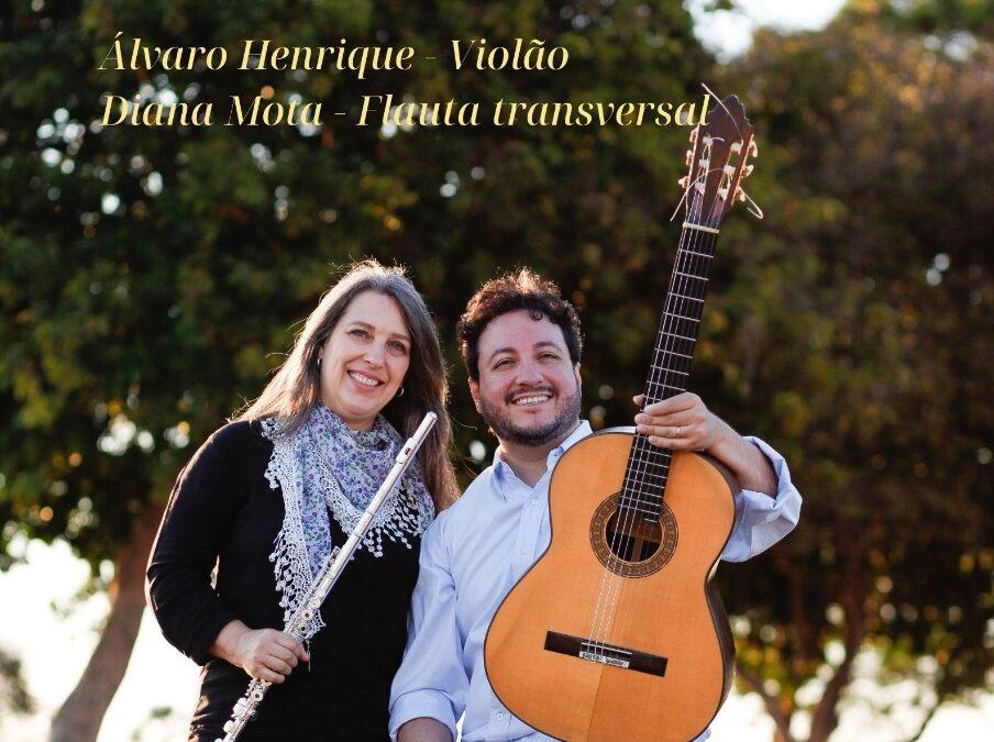 Decreto do GDF manda fechar teatros, mas o duo Diana Mota e Alvaro Henrique vai tocar no mesmo dia e horário