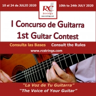 Concurso de Violão RC Strings
