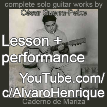 Guerra-Peixe's works for guitar (with subtitles for listeners and lessons for guitarists)