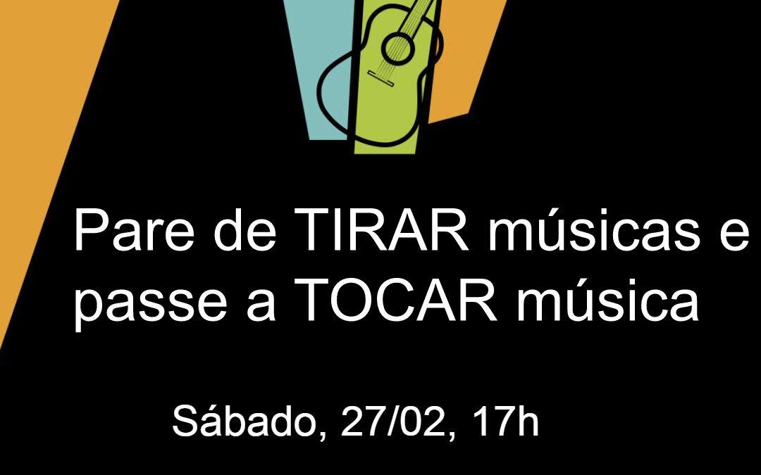 Live 17h: Pare de TIRAR músicas e passe a tocar música